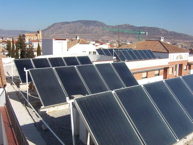 ACS SOLAR EN RESIDENCIA DE MAYORES SAN JAIME DE HUESCAR